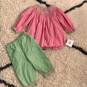 Petit Ami NWT top and pants set